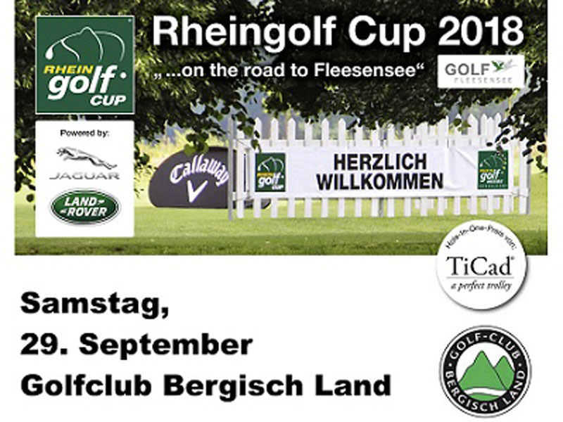 Rheingolf Cup powered by Jaguar Land Rover am 29.09.18